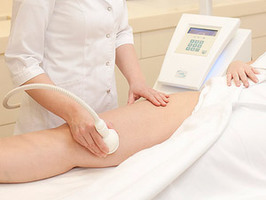 Вакуумный массаж тела на аппарате Skintonic
